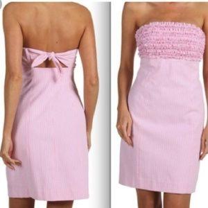 Lilly Pulitzer Seersucker Dress 0/XS